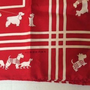 Burberry Dog Walker Silk Scarf